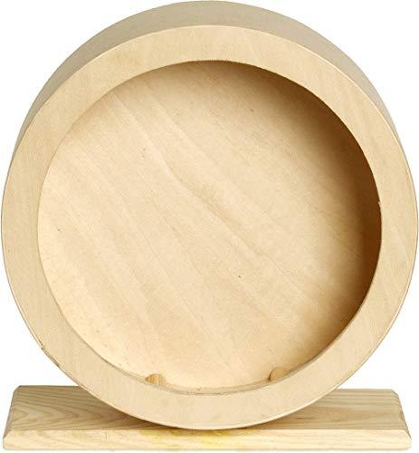 Karlie 84198 ruota in legno per criceti bogie 20 cm wonderland