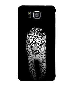 PrintVisa Designer Back Case Cover for Samsung Galaxy Alpha :: Samsung Galaxy Alpha S801 :: Samsung Galaxy Alpha G850F G850T G850M G850Fq G850Y G850A G850W G8508S :: Samsung Galaxy Alfa (Tiger Lion Leopard Roaring Wild Animal)