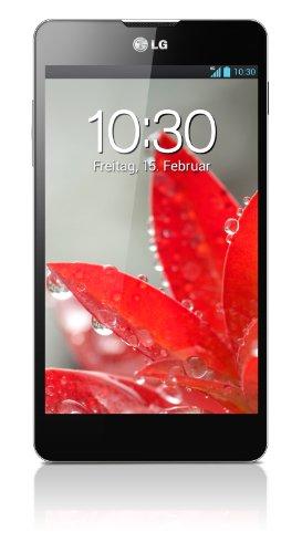 LG E975 Optimus G Smartphone (11,9 cm (4,7 Zoll) Touchscreen, Quad-Core, 1,5GHz, 13 Megapixel Kamera, microUSB, Android 4.1) schwarz (Lg G E975)