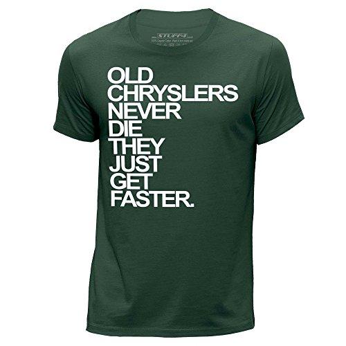 stuff4-herren-mittel-m-dunkelgrun-rundhals-t-shirt-old-chryslers-chrysler-never-die