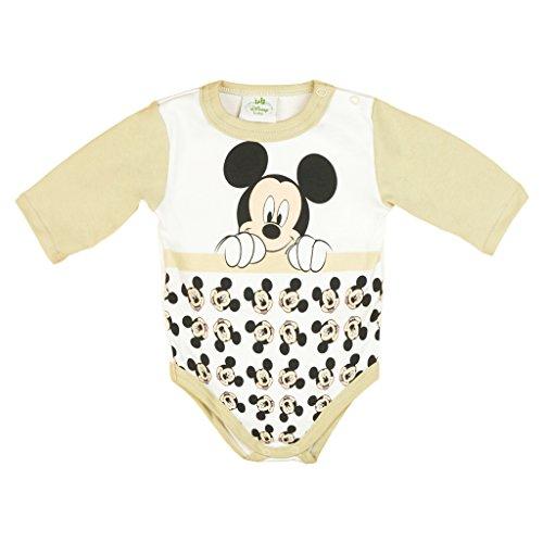 Mickey Mouse Body à Manches Longues pour garçon Bleu Blanc Taille 56 62 68 74 80 86 92 98 Disney Baby Matelas à Langer 0 6 12 18 24 Mois Couleur 1 - Multicolore - Taille Unique