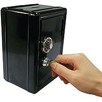 Preisvergleich für LEORX Spardosen Spardose Sparbüchse Metall Tresor mit Schlüssel