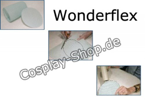 Thermoplastische z-zero–Gewebe (Bastel, Größe M 55x 70cm