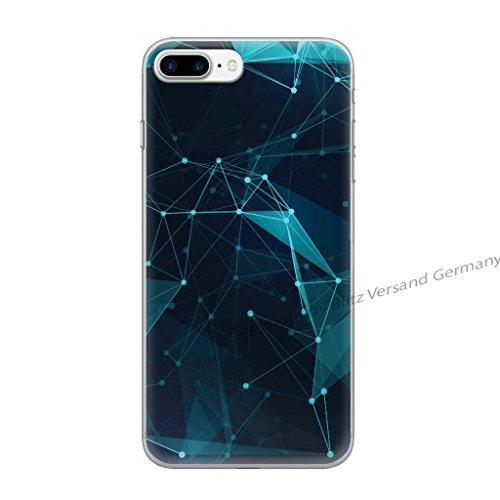 Blitz® JAPAN motifs housse de protection transparent TPE caricature bande iPhone Stars M14 iPhone X Stars M14