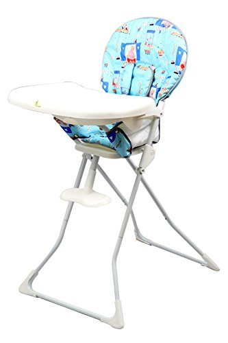R for Rabbit Little Muffin - The Portable High Chair (Blue)  available at amazon for Rs.3564