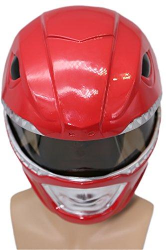 Cosplay Kostüm Helm Mighty Classic Rot Maske Verrückte -