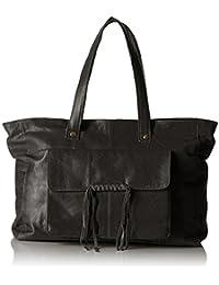 PIECES Pcmusta Leather Bag - Shoppers y bolsos de hombro Mujer