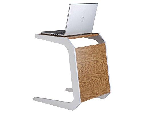 Preisvergleich Produktbild Generic Laptop-Ständer / Schreibtisch,  Weiß / Eiche / Weiß