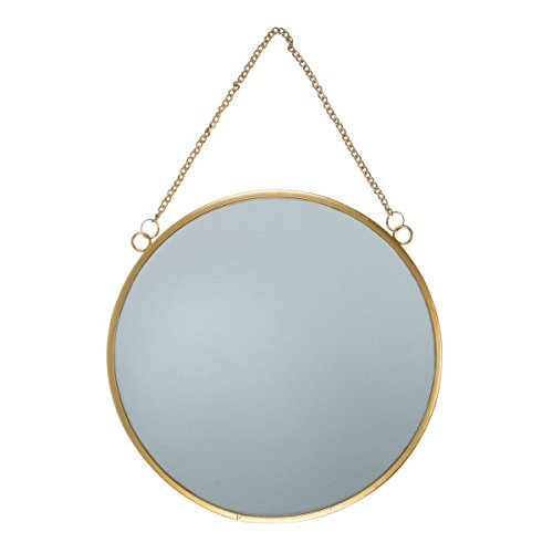 Sass & Belle Touch Of Gold Round Mirror [Importación inglesa]