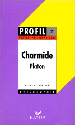 Charmide, textes philosophiques
