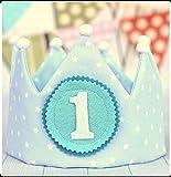 Decorazione per festa di compleanno, Corona per bambino, primo compleanno, Decorazione cumpleanno baby,