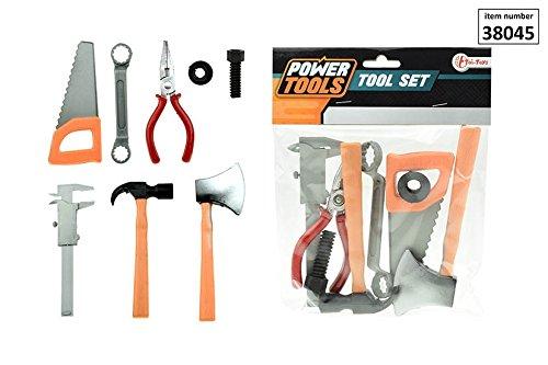 GYD Das Home Made Kinder Spiel Set Werkzeug Werkzeugbank mit Hammer Säge Schraubendreher...