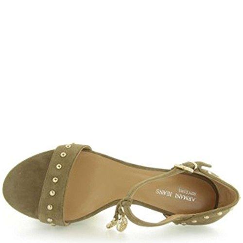 Armani Jeans T5571 Sandalo Donna Beige