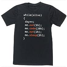 HippoWarehouse Day of programmer (Día de un programador informático) camiseta manga corta unisex