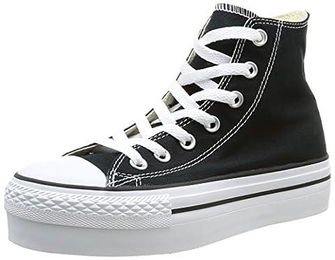 Converse Women's Chuck Taylor All Star Hi Sneakers, Black, 3.5