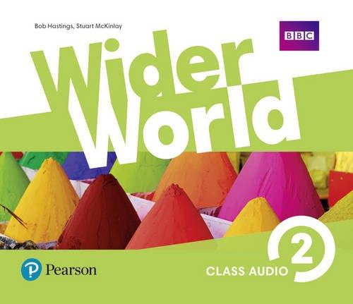 Wider World 2 Class Audio CDs