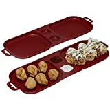 SimpArte Xcelsior Tray - Set of 2, Red