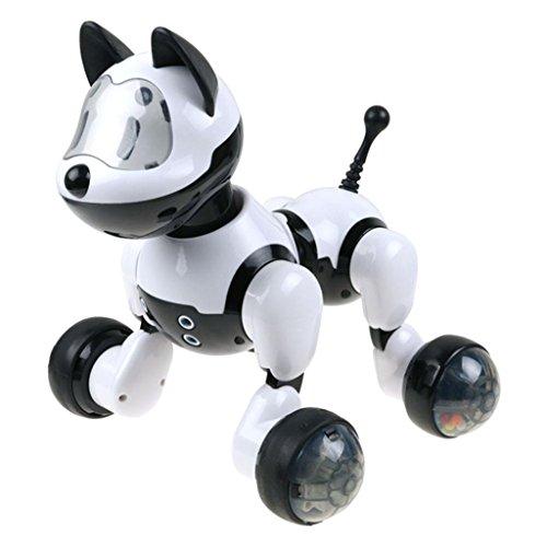 SaniMomo Fernbedienung Roboter Hund RC Interaktiv Intelligente Welpen Haustier mit Sprachsteuerung - Hund