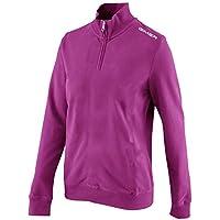 GIMER 2/041, Camiseta Polar 1/2Cremallera para Mujer, Mujer, 2/041, Cerise, X-Large