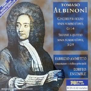 Concerti Per Violino /Sinfonie A Quattro [Import allemand]