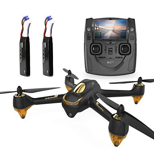 Hubsan H501S X4 Brushless Drohne GPS 1080P HD Kamera 5.8 Ghz FPV 2.4 Ghz RC Quadcopter Mit H901A Sender Schwarz Standard Version Mit 2 Batterien Für Drohne