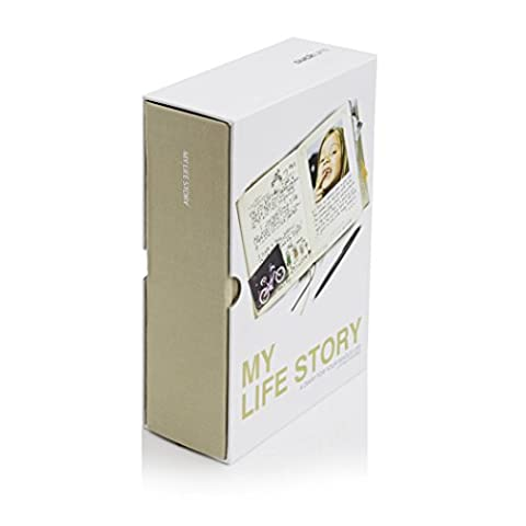 Suck UK -My Life Story - Lifetime Diary - beige