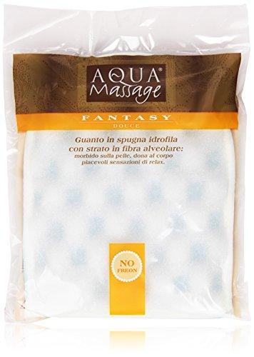 Aqua Massage - Guanto, in spugna idrofila