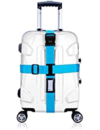 CSTOM® Voyage bagage valise sangle verrouillage sûr ceinture sécurité sangles 2m bagages sac à dos ceinture 800051