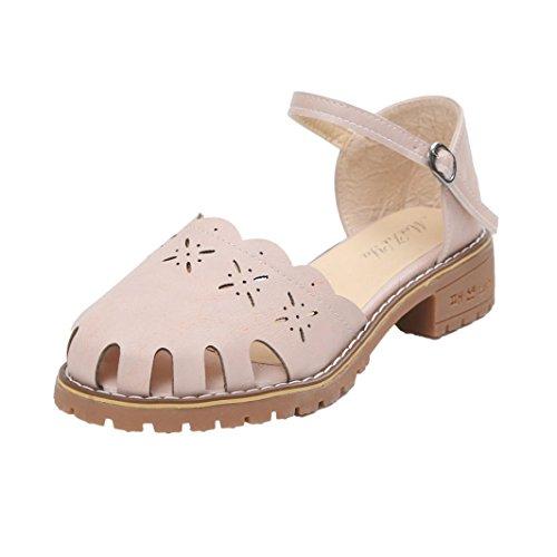 Hunpta Frauen Point Toe Pumps Sexy Thin Air Heels Schuhe Frau Schuhe Sandalen Rosa