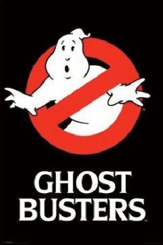 1art1 52908 Poster fluorescente Ghostbusters, Logo, 91 x 61 cm