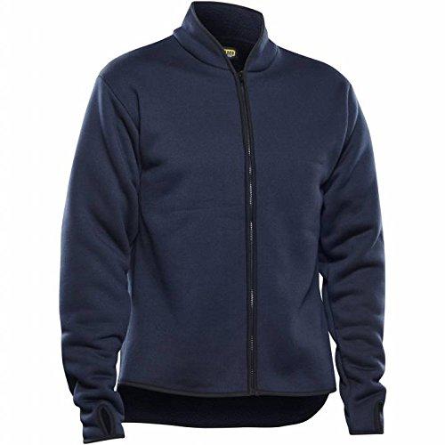 Con forro de vellón piel chaqueta 4770 2954 azul marino, Azul, 477029548900L
