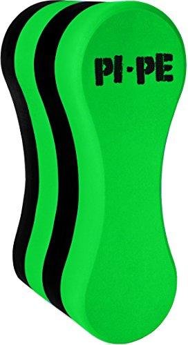 PI-PE Erwachsene Pull Buoys Active, Green/Black, OneSize, 2015-1662-2015-3