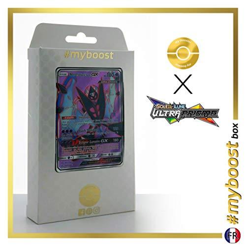 Necrozma Ailes de l'Aurore-GX (Dawn Wings Necrozma-GX) 143/156 Full Art - #myboost X Soleil & Lune 5 Ultra-Prisme - Box di 10 Carte Pokémon Francese