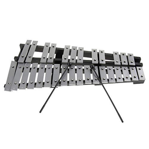 perfeclan Kit Di Percussioni Xilofono Professionale A 30 Toni Per Appassionati Di Musica