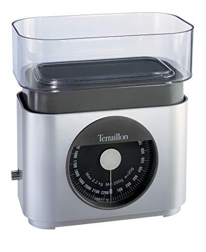 Ardes ART6616 Bilancia Meccanica Da Cucina Con Ciotola Terraillon BA22 Silver