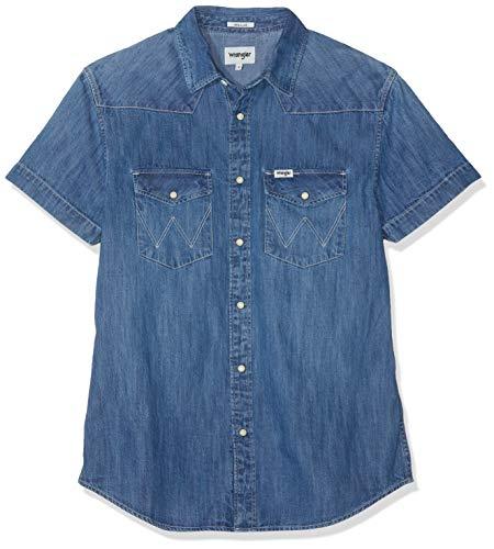 Wrangler SS Western Shirt W5A10O6Z5 Camisa Vaquera