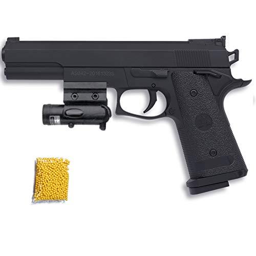 P306 Ming XING Láser - Pistola de Airsoft Calibre 6mm (Arma Aire Suave de Bolas de plástico o PVC). Sistema: Muelle.