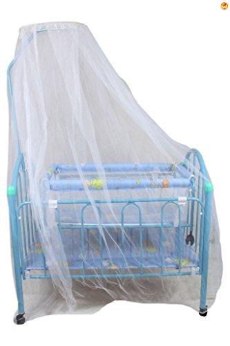 Baybee Elita Crib N Cradle (Blue)