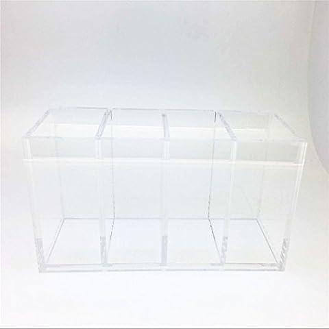 immi-living porta pennelli Rossetto Acrilico trasparente scatola Handmade