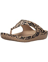 crocsSloane Leopard Flip W - Bailarinas Mujer