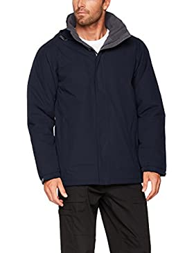 Regatta Tra377, Chaqueta para Hombre, Blue (Navy/Seal Grey), Small
