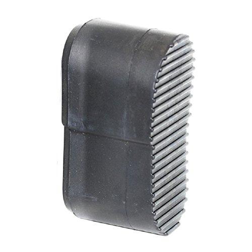 Airsoft Softair Ersatzteile Kunststoff Gummi PVC Stock Butt Platte für P90 schwarz