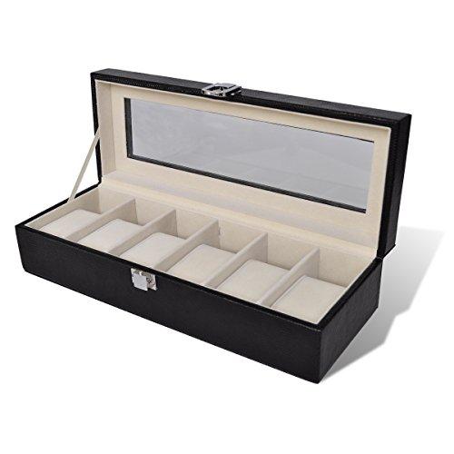 presentoir-coffret-boite-a-montre-pour-6-montres-avec-vitre