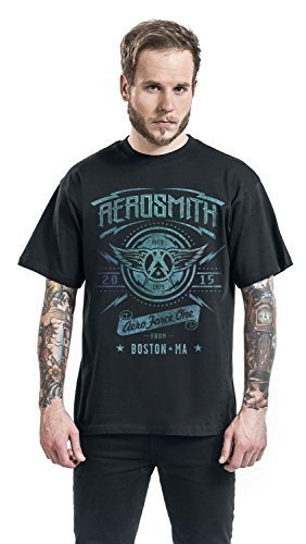 Aerosmith Aeroforce One Camiseta Negro M