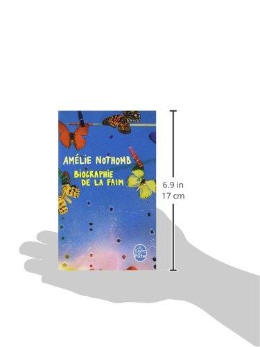 Book's Cover of Biographie de la faim
