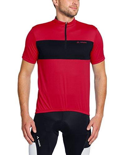 vaude-maglia-aderente-da-uomo-modello-mossano-iii-uomo-trikot-mossano-iii-rosso-s