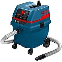 Bosch GAS 25 - Extractor de polvo (12.7 kg) Negro, Azul, Metálico, Rojo