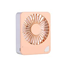 ZARLLE_ventilador Mini Ventilador portátil portátil de Mano USB Mini Escritorio Creativo Ventilador silencioso para la Sala Ordenador Portátil Oficina Viaje y al Aire Libre etc