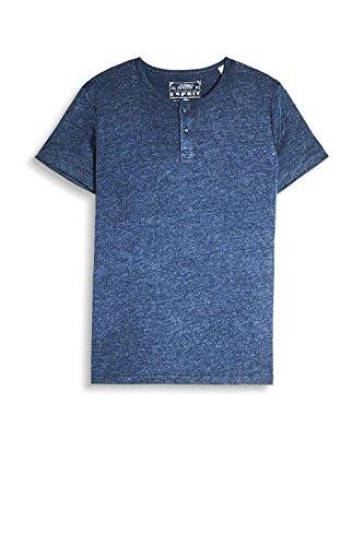 ESPRIT Herren T-Shirt 997ee2k818 Blau (Navy 400)