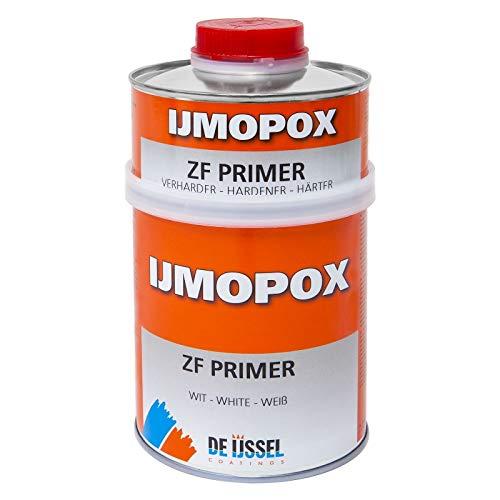 De IJssel IJmopox ZF Primer Set - 5 Liter - Weißer 2K-Epoxid-Primer für Stahl und Aluminium, vor Korrosion schützend